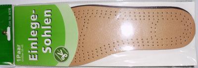 Podeszwa butów - inlay