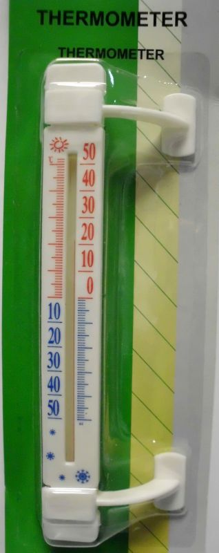 Thermometer for outdoor