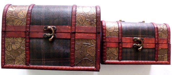 Geschenkbox aus Holz  3er Set