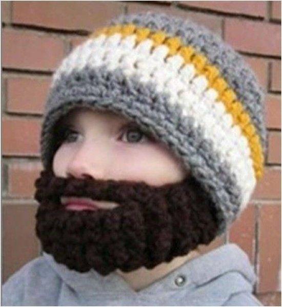 Czapka z brodą dla<br>dzieci