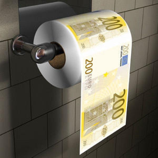 Toilettenpapier<br>200 Euro XL