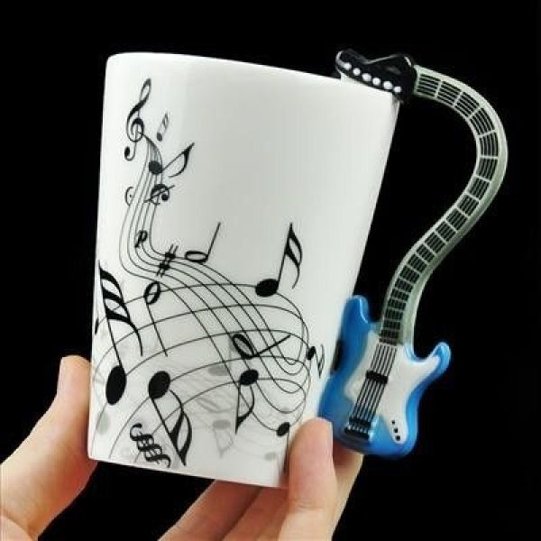 Mug Music - GUITAR BLUE