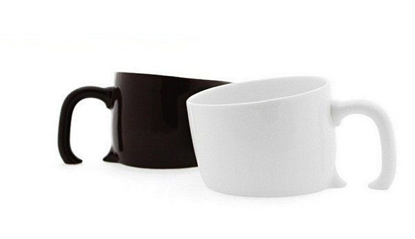 Sinking mug - black
