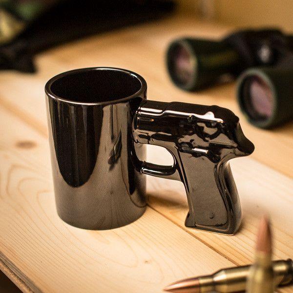 Sensational cup gun