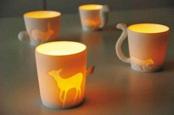 Cup with a tail -<br>the deer