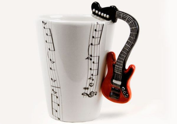 Mug Music - GUITAR RED