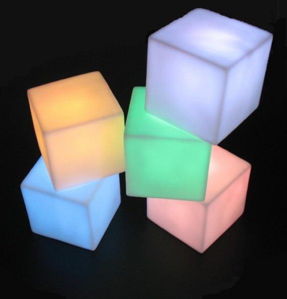 LED-Mini-Cube-Dekoration