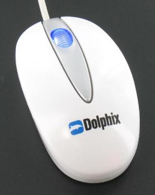 Dolphix Optical Mouse White USB Mini-Laptop (10 St