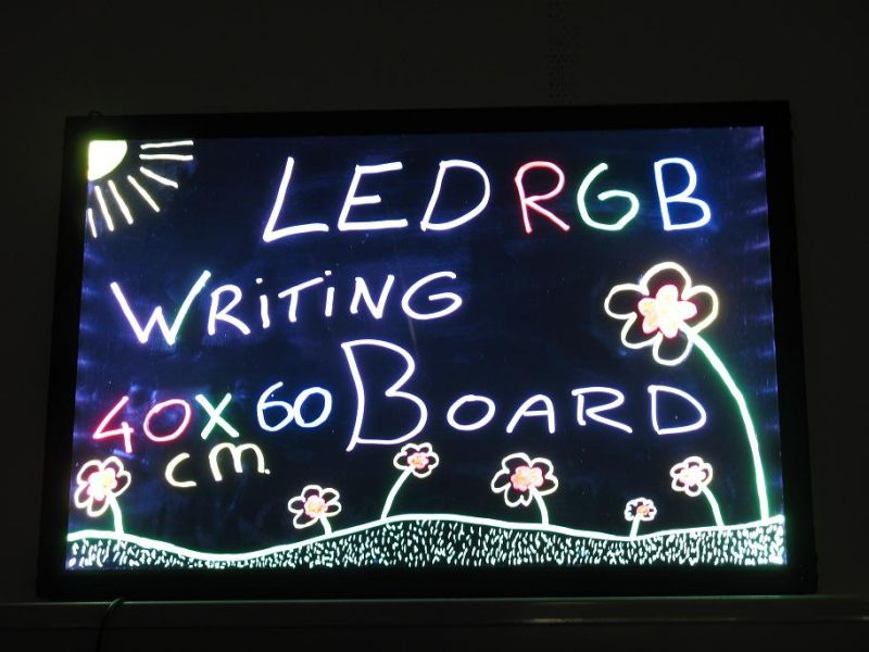LED Schreibtafel 40 x 30 cm