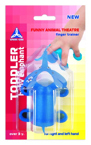 FUNNY ANIMAL THEATER. Kleinkind Baby elephant