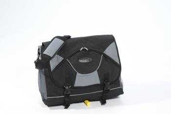 Rollover case, black / gray, 40cm