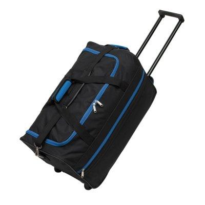Trolleytasche<br>  Hansa <br> 600D,schwarz/blau, ...