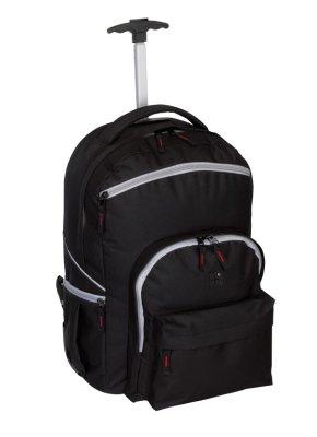 Trolley-Rucksack<br> 'Stylo'<br> 600D,schwarz/gr, ...