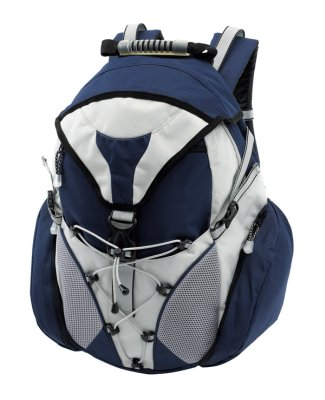 Weather-proof<br> backpack with rain<br>cover