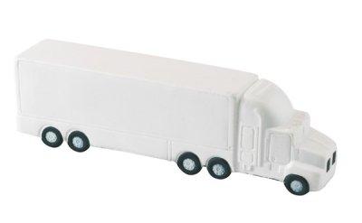 Anti-Stress LKW,<br>  Lorry , weiss, 15<br>x 3,1 x 3,8 cm