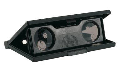 Foldable<br> binoculars, 3 x<br>25mm lenses, weak