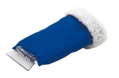 Ice scraper with<br>glove, blue, 28 x