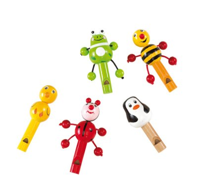 Toy whistle, various T