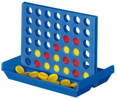 Travel játék, kék,<br>piros, sárga, 10,3 x