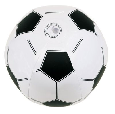 Inflatable ball in football design