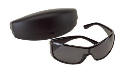 Napszemüveg:<br> 100%-os UV<br>védelmet sötét