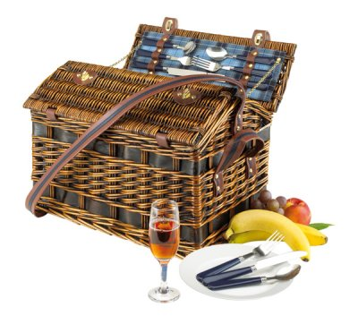 Willow picnic basket for 4 persons, b