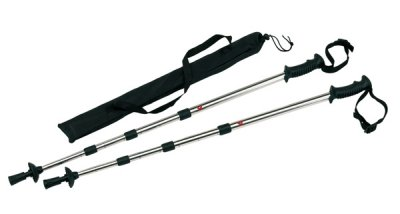 Trekking poles<br>extendable, 2 pieces