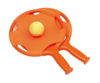 Beachball Set<br>  have fun ,<br> Orange, 18,9 x ...
