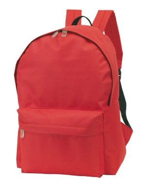 RUCKSACK  Top ,<br> 600D, rot, ca. 40<br>x 28 x 14 cm