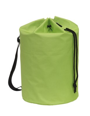 Duffel bag, light green, about Ø30 x 50 cm