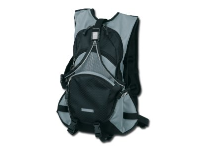 Bike backpack made<br>of polyester.