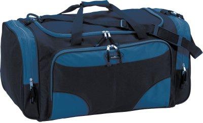 Travel bag, blue /<br>light blue