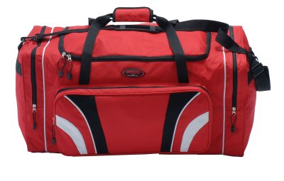 Sports bag, red