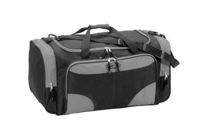 Travel bag, black / gray