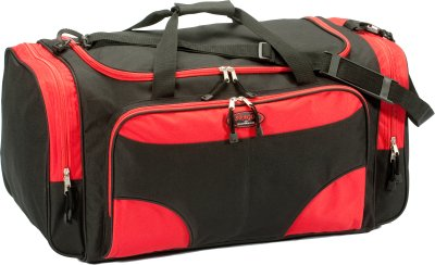 Travel Bag Black / Red