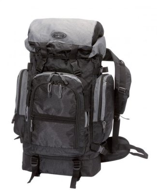 Trekking backpack,<br>approx 32x68x23cm