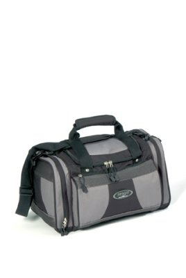 Travel bag, black / gray