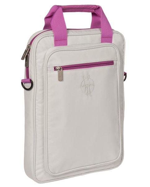 LÄSSIG Notebook<br> Pouch / laptop<br>bag, Uni light gray