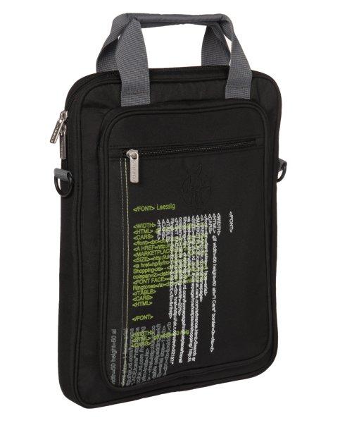 LÄSSIG Notebook<br> Pouch / laptop<br>case, black text