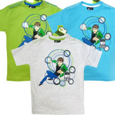 Ben 10 T-Shirt Kurzarm Jungen