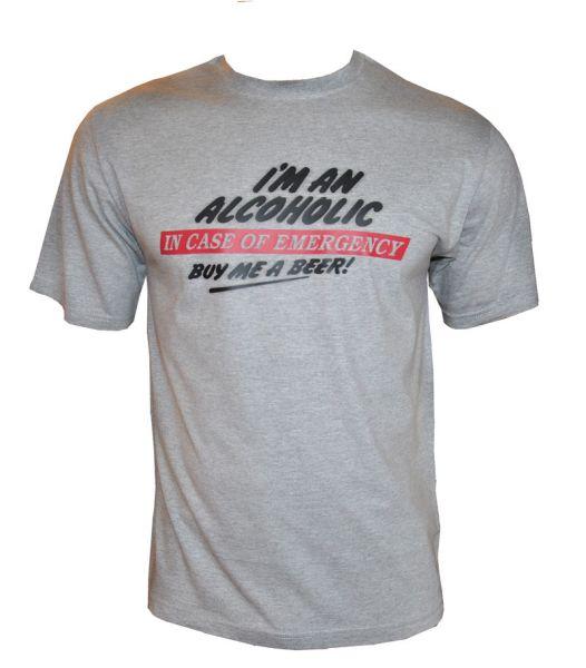 T-Shirt 49301 Alkoholische