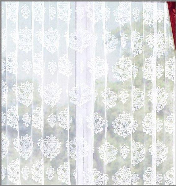 Langstore in Weiß mit schönem Muster Große Größen