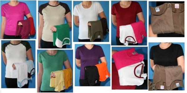 Damen und Mädchen T-Shirts im Mix