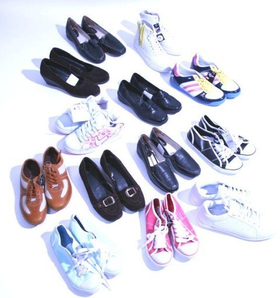 Sneakers Schuhe und Stoffschuhe restposten