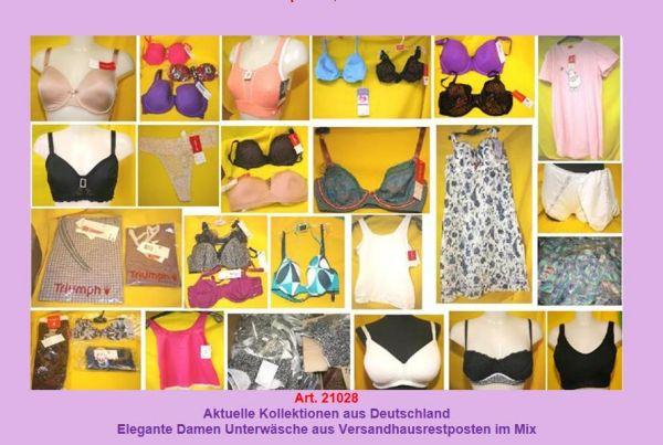Damenunterwäsche mit Marken NEU!!! 1-A-Versandhaus