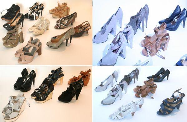 Verschiedene Hohe Schuhe für Damen