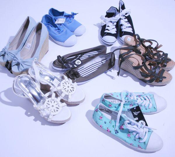 Damenschuhe aus Textil, Stoffschuhe und Ballerinas