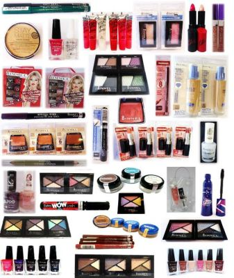 Rimmel Cosmetics in mixed package