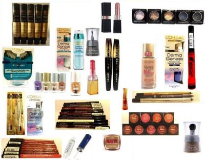 Mixed package of L'Oreal cosmetics