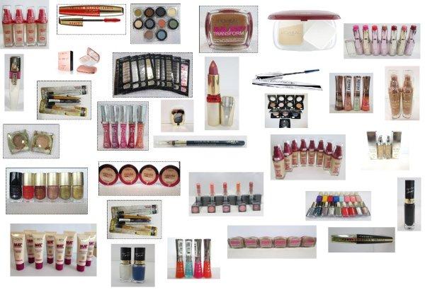DESCUENTO mixto cosméticos sólo productos LOREAL